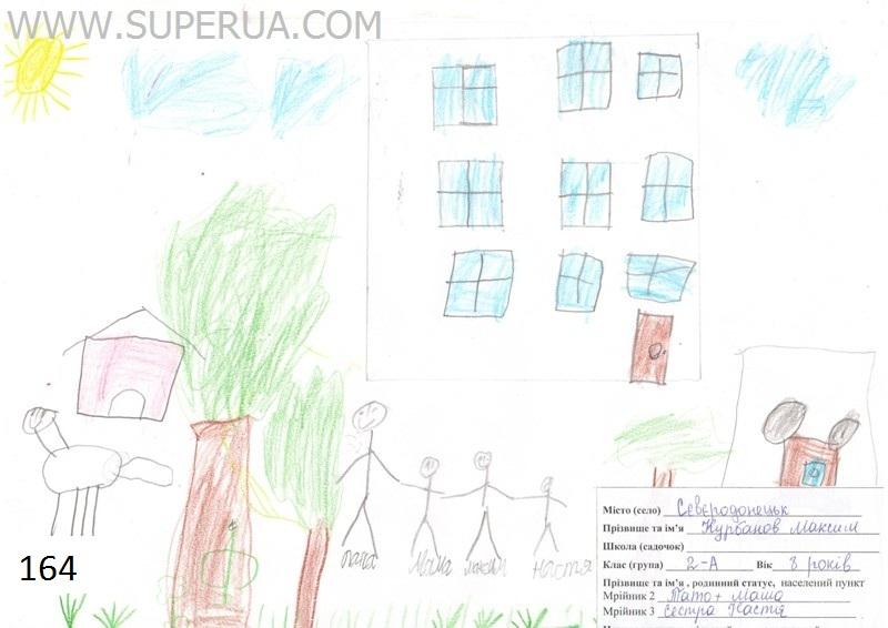№ 164 Курбанов Максим, 8 років, м. Сєвєродонецьк
